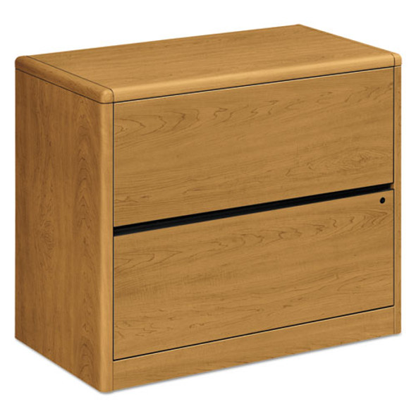 10700 Series Two Drawer Lateral File, 36w X 20d X 29.5h, Harvest