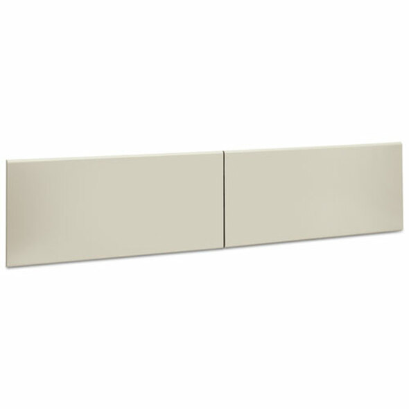 "38000 Series Hutch Flipper Doors For 72""w Open Shelf, 36w X 15h, Light Gray"