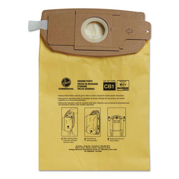 Disposable Vacuum Bags, Allergen C1, 10pk/ea