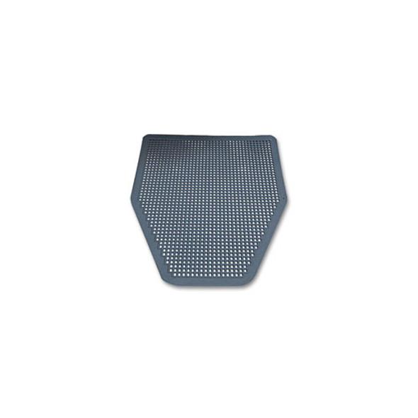 Disposable Urinal Floor Mat, Nonslip, Green Apple Scent, Gray, 6/carton