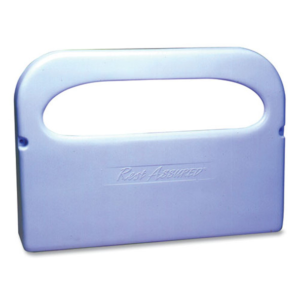 Plastic 1/2 Fold Toilet Seat Cover Dispenser, 16.05 X 3.15 X 11.3, White