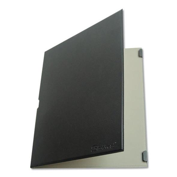 "Blackboard Folio, 8 1/2"" X 7/16"" X 11.8"", Black"