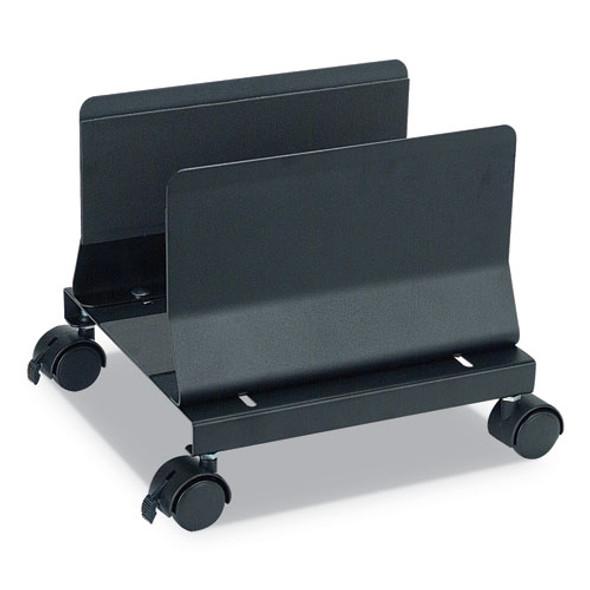 Metal Mobile Cpu Stand, 10.25w X 10.63d X 9.75h, Light Gray