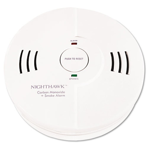 Night Hawk Combination Smoke/co Alarm W/voice/alarm Warning