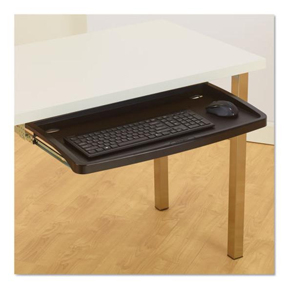 Comfort Keyboard Drawer With Smartfit System, 26w X 13.25d, Black