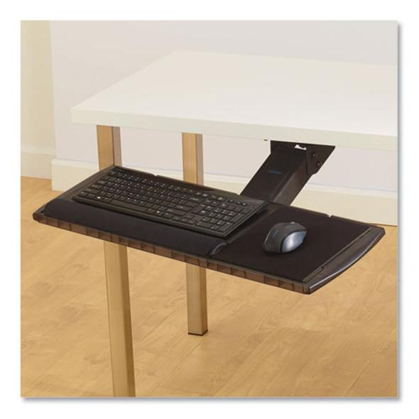 Adjustable Keyboard Platform With Smartfit System, 21.25w X 10d, Black