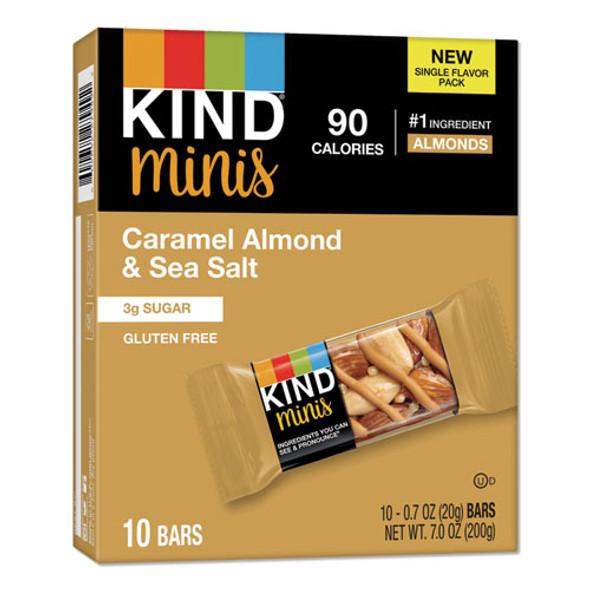 Minis, Caramel Almond Nuts/sea Salt, 0.7 Oz, 10/pack