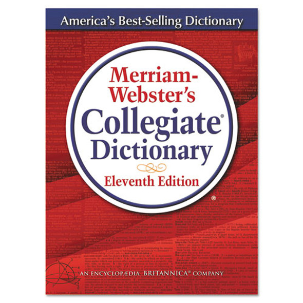 Merriam-websters Collegiate Dictionary, 11th Edition, Hardcover, 1,664 Pages