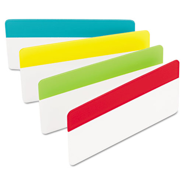"2"" And 3"" Tabs, 1/3-cut Tabs, Assorted Colors, 3"" Wide, 24/pack"