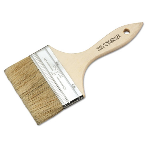 """Low Cost Paint Or Chip Brush, 4"""""""