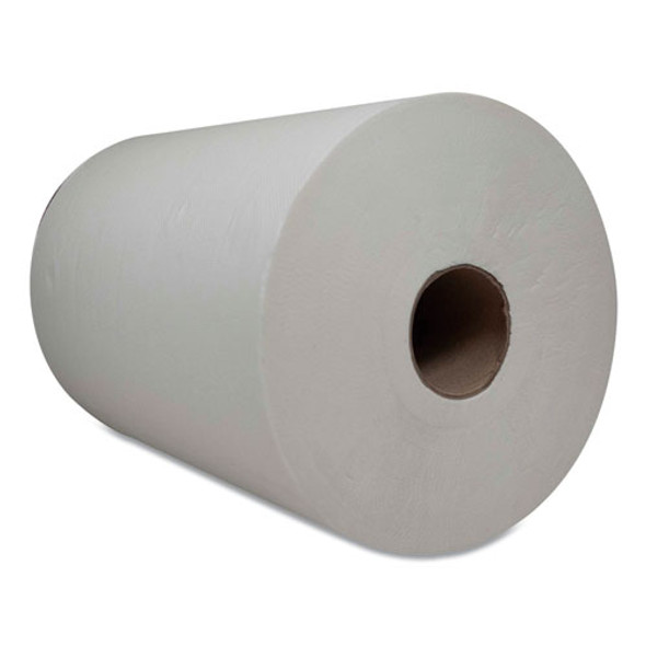 "10 Inch Tad Roll Towels, 1-ply, 7.25"" X 500 Ft, White, 6 Rolls/carton"