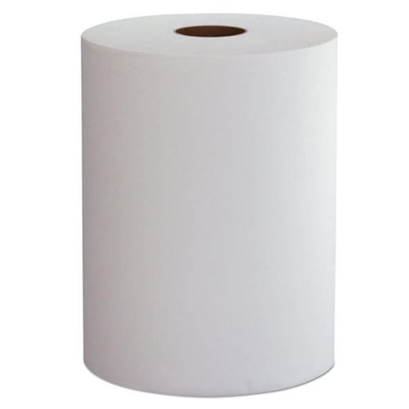 "10 Inch Roll Towels, 1-ply, 10"" X 800 Ft, White, 6 Rolls/carton"