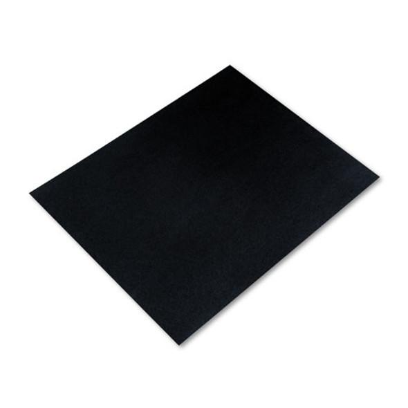 Four-ply Railroad Board, 22 X 28, Black, 25/carton