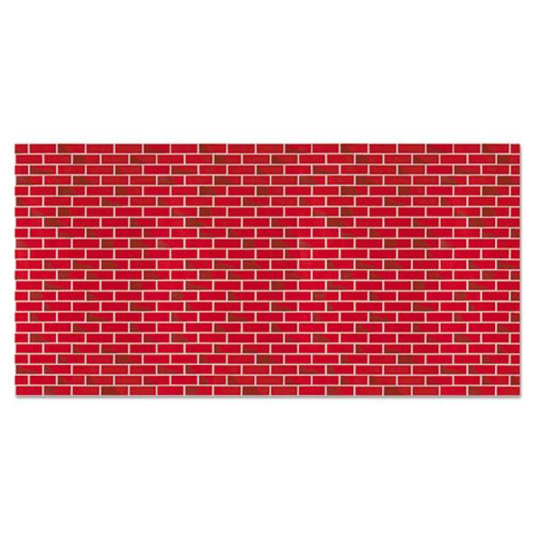 "Fadeless Designs Bulletin Board Paper, Brick, 48"" X 50 Ft."