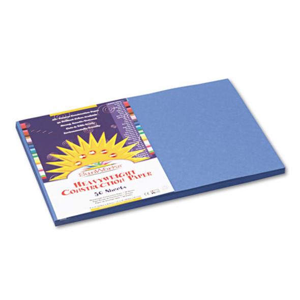 Construction Paper, 58lb, 12 X 18, Blue, 50/pack