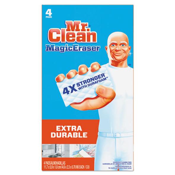 "Magic Eraser Extra Durable, 4 3/5"" X 2 2/5"", 4/box"