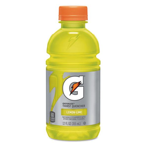G-series Perform 02 Thirst Quencher, Lemon-lime, 12 Oz Bottle, 24/carton