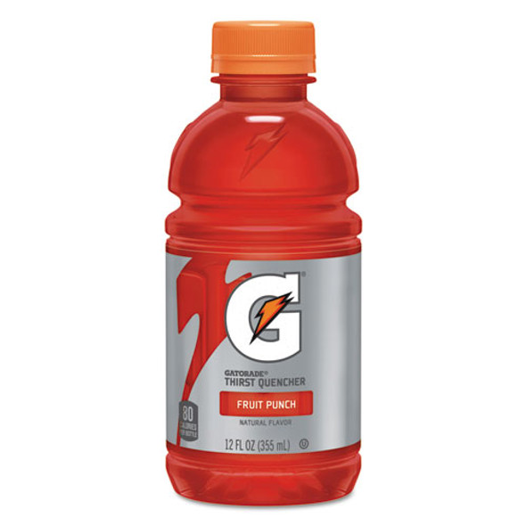 G-series Perform 02 Thirst Quencher, Fruit Punch, 12 Oz Bottle, 24/carton