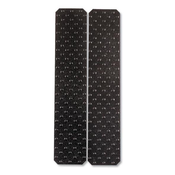 "Xtremegrip Studded Anti-slip Adhesive Strips, 5"" X 24"", Black"