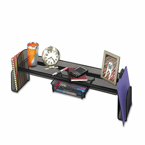 Onyx Steel Mesh Off-surface Shelf, Pull-out Drawer, 31 1/2 X 7 1/4 X 10