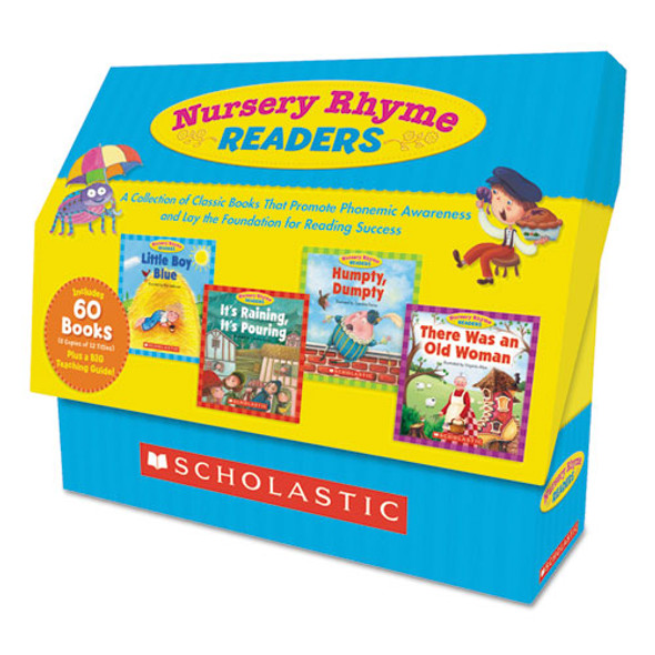 Nursery Rhyme Readers, Phonics; Reading, Grades Pre K-1, 8 Pages/book