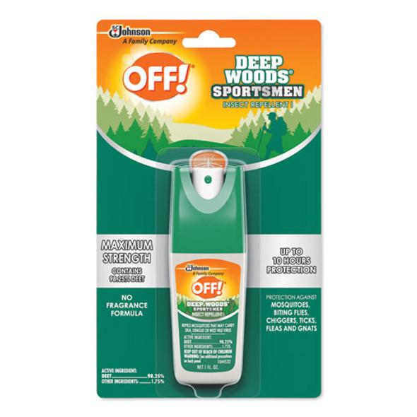 Deep Woods Sportsmen Insect Repellent, 1 Oz Spray Bottle