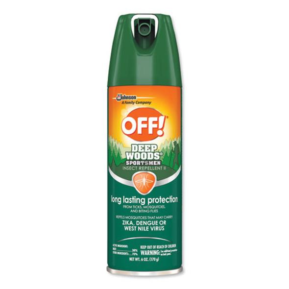 Deep Woods Sportsmen Insect Repellent, 6 Oz Aerosol, 12/carton