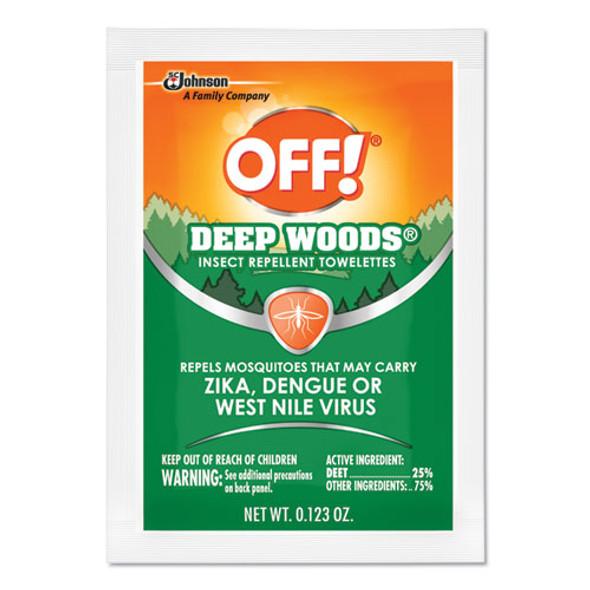 Deep Woods Towelettes, 12/box, 12 Boxes Per Carton