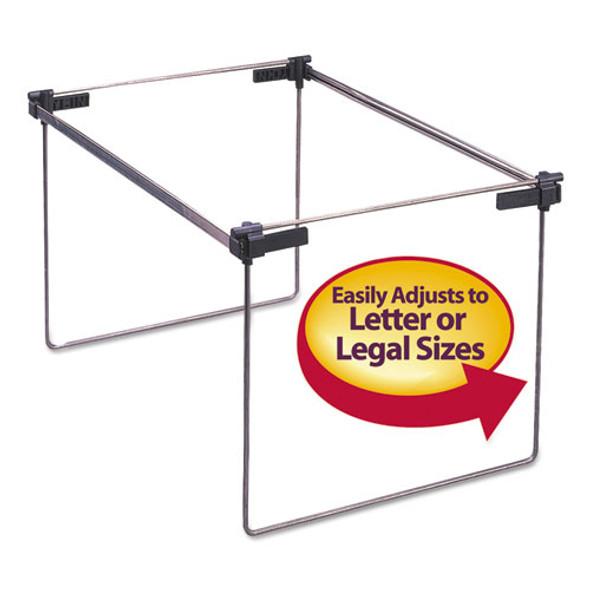 "Hanging Folder Frame, Letter/legal Size, 12-24"" Long, Steel, 2/box"