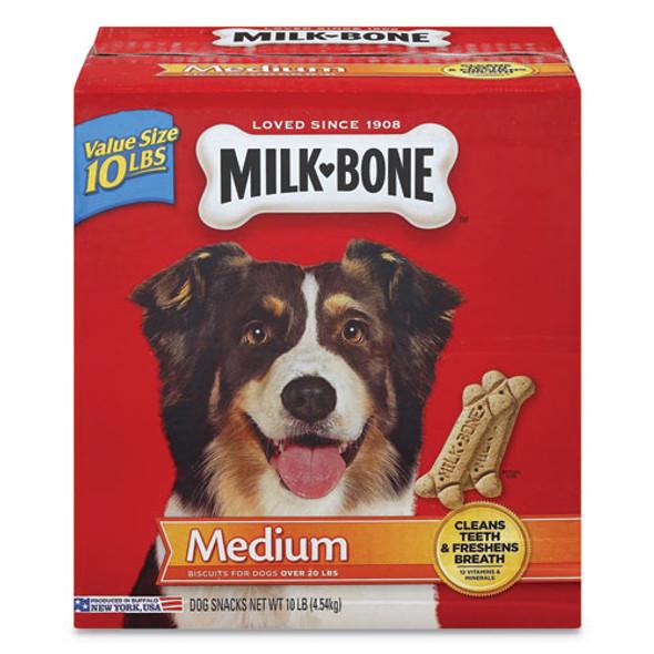 Original Medium Sized Dog Biscuits, Original, 10 Lbs, 10/carton