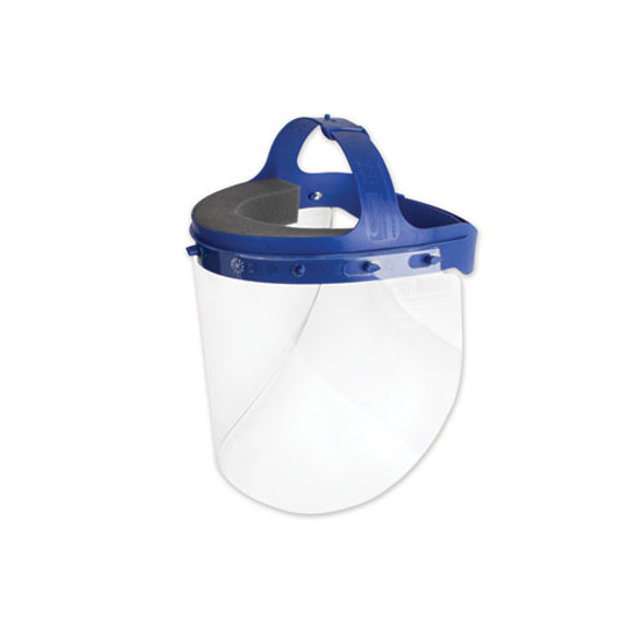 Fully Assembled Full Length Face Shield With Head Gear, 16.5 X 10.25 X 11, 16/carton