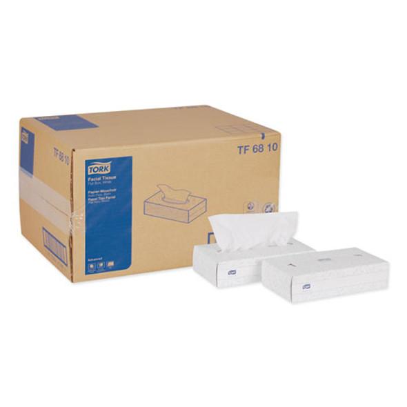 Advanced Facial Tissue, 2-ply, White, Flat Box, 100 Sheets/box, 30 Boxes/carton