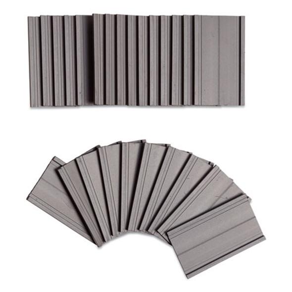 Magnetic Card Holders, 2 X 1, Black, 25/pack