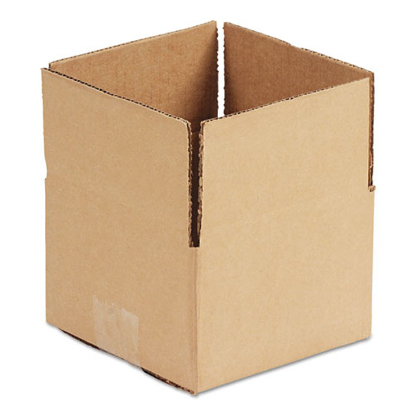 """Fixed-depth Shipping Boxes, Regular Slotted Container (rsc), 10"""" X 8"""" X 6"""", Brown Kraft, 25/bundle"""