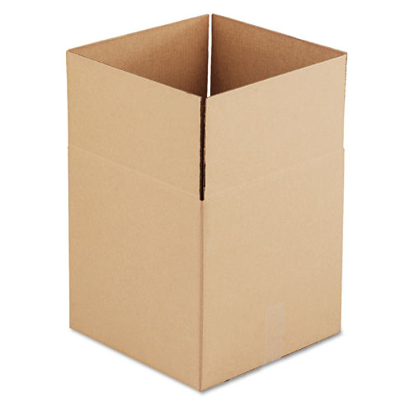 """Cubed Fixed-depth Shipping Boxes, Regular Slotted Container (rsc), 14"""" X 14"""" X 14"""", Brown Kraft, 25/bundle"""