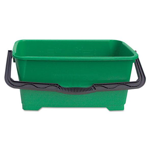 Pro Bucket, 6gal, Plastic, Green