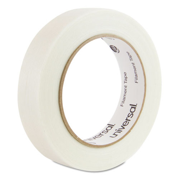 "120# Utility Grade Filament Tape, 3"" Core, 24 Mm X 54.8 M, Clear"