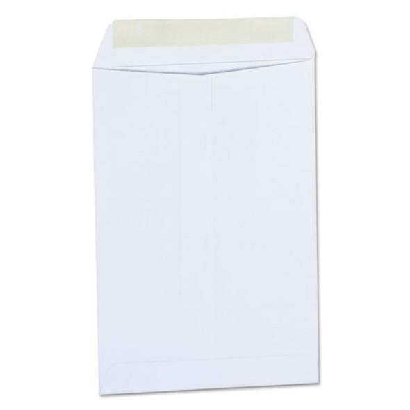 Catalog Envelope, #1 3/4, Square Flap, Gummed Closure, 6.5 X 9.5, White, 500/box