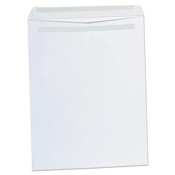 Self-stick Open-end Catalog Envelope, #15 1/2, Square Flap, Self-adhesive Closure, 12 X 15.5, White, 100/box