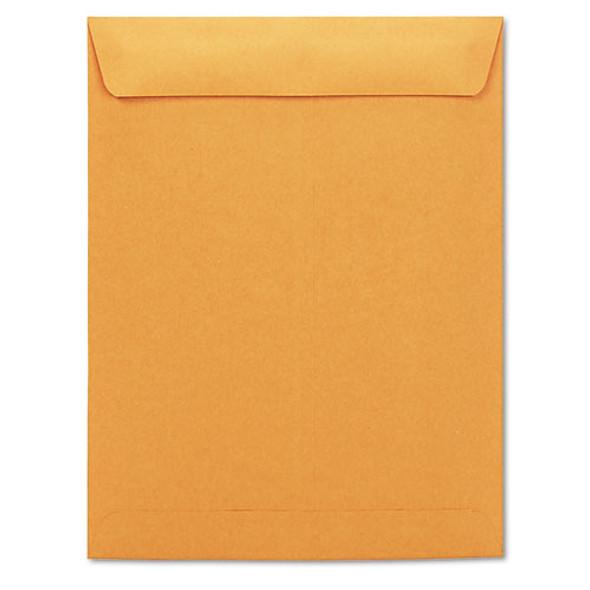 Catalog Envelope, #13 1/2, Square Flap, Gummed Closure, 10 X 13, Brown Kraft, 250/box