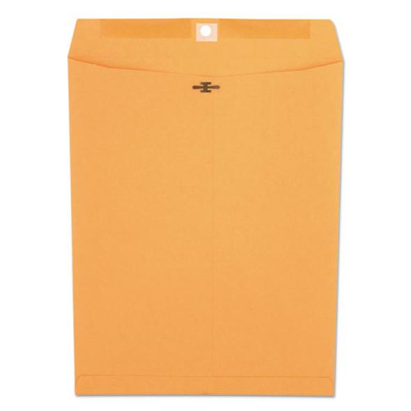 Kraft Clasp Envelope, #97, Square Flap, Clasp/gummed Closure, 10 X 13, Brown Kraft, 100/box