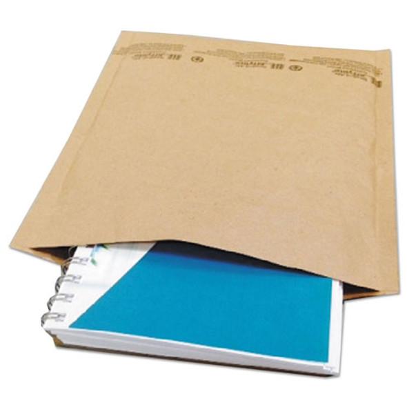 Natural Self-seal Cushioned Mailer, #2, Barrier Bubble Lining, Self-adhesive Closure, 8.5 X 12, Natural Kraft, 100/carton