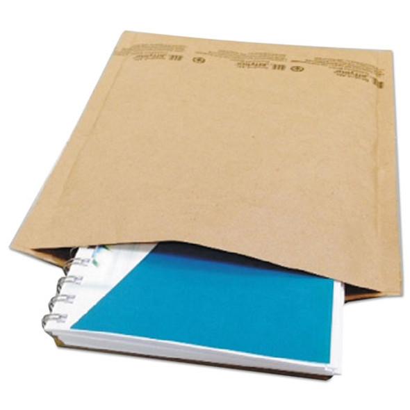 Natural Self-seal Cushioned Mailer, #5, Barrier Bubble Lining, Self-adhesive Closure, 10.5 X 16, Natural Kraft, 80/carton