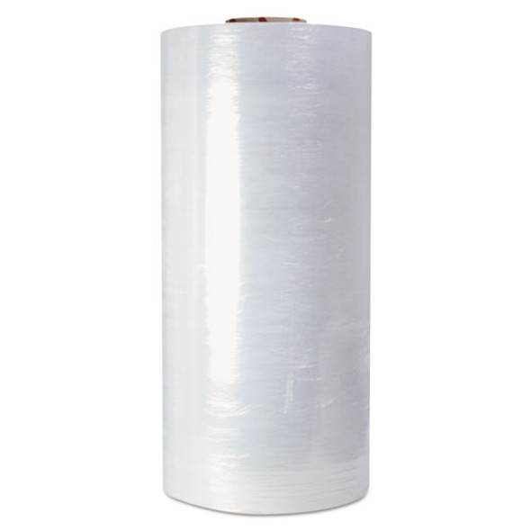 """High-performance Pre-stretched Handwrap Film, 18"""" X 1500ft, 32-ga, Clear, 4/ct"""
