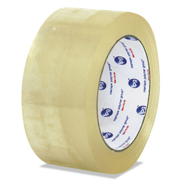 """Clear Packaging Tape, 3"""" Core, 72 Mm X 100 M, Clear, 24/carton"""
