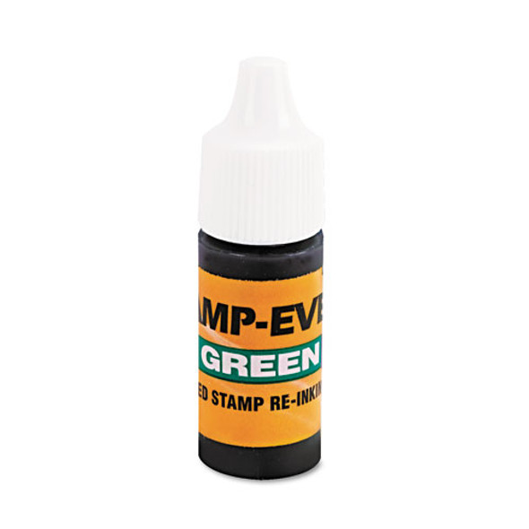 Refill Ink For Clik! And Universal Stamps, 7ml-bottle, Green
