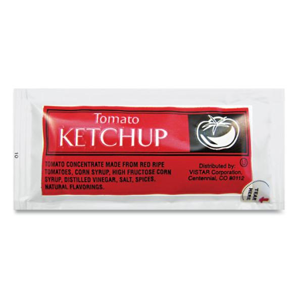 Condiment Packets, Ketchup, 0.25 Oz Packet, 200/carton