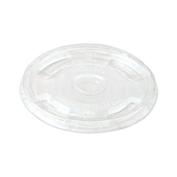 Clear Cold Cup Lids, Fits 9-24 Oz Cups, 1,000/carton