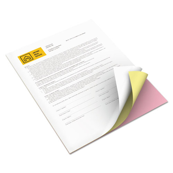 Revolution Carbonless 3-part Paper, 8.5 X 11, Pink/canary/white, 5, 010/carton
