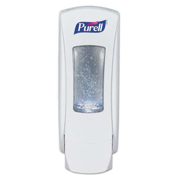 """Adx-12 Dispenser, 1200 Ml, 4.5"""" X 4"""" X 11.25"""", White"""